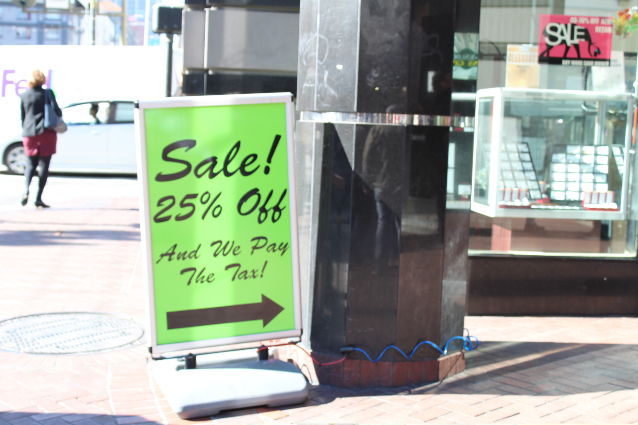 Sidewalk A Frame Signs Are Common Product Used To Serve Variety Of Uses By Businesses With Front Placing Customized